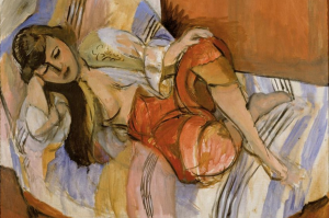 """Matisse, """"Odalisque,"""" ca. 1920, currently at the Stedelijk Museum, Amsterdam"""